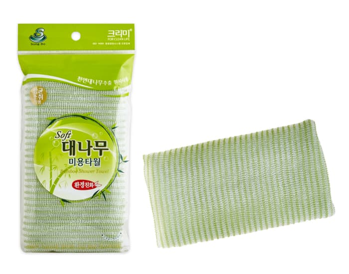 Мочалка из натурального волокна бамбука SUNG BO CLEAMY Clean & Beauty Bamboo Shower Towel